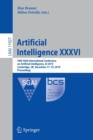 Image for Artificial Intelligence XXXVI : 39th SGAI International Conference on Artificial Intelligence, AI 2019, Cambridge, UK, December 17-19, 2019, Proceedings