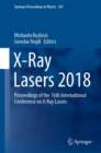 Image for X-ray lasers 2018  : proceedings of the 16th International Conference on X-ray Lasers