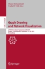 Image for Graph Drawing and Network Visualization: 27th International Symposium, GD 2019, Prague, Czech Republic, September 17-20, 2019, Proceedings : 11904