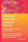 Image for Elementary mathematics curriculum materials  : designs for student learning and teacher enactment