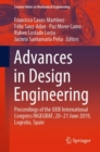 Image for Advances in Design Engineering : Proceedings of the XXIX International Congress INGEGRAF, 20-21 June 2019, Logrono, Spain