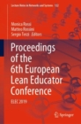 Image for Proceedings of the 6th European Lean Educator Conference: ELEC 2019