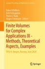 Image for Finite Volumes for Complex Applications IX - Methods, Theoretical Aspects, Examples : FVCA 9, Bergen, Norway, June 2020