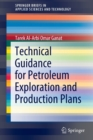 Image for Technical Guidance for Petroleum Exploration and Production Plans