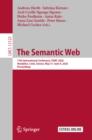 Image for Semantic Web: 17th International Conference, ESWC 2020, Heraklion, Crete, Greece, May 31-June 4, 2020, Proceedings : 12123