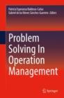 Image for Problem Solving In Operation Management