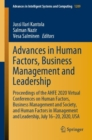 Image for Advances in Human Factors, Business Management and Leadership : Proceedings of the AHFE 2020 Virtual Conferences on Human Factors, Business Management and Society, and Human Factors in Management and