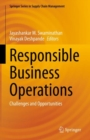 Image for Responsible Business Operations: Challenges and Opportunities