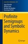Image for Profinite Semigroups and Symbolic Dynamics