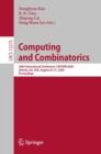 Image for Computing and Combinatorics: 26th International Conference, COCOON 2020, Atlanta, GA, USA, August 29-31, 2020, Proceedings : 12273