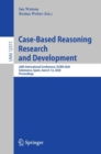 Image for Case-Based Reasoning Research and Development: 28th International Conference, ICCBR 2020, Salamanca, Spain, June 8-12, 2020, Proceedings
