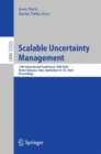 Image for Scalable Uncertainty Management: 14th International Conference, SUM 2020, Bozen-Bolzano, Italy, September 23-25, 2020, Proceedings : 12322