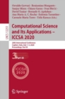 Image for Computational Science and Its Applications - ICCSA 2020: 20th International Conference, Cagliari, Italy, July 1-4, 2020, Proceedings, Part III : 12251