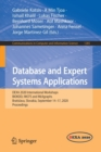 Image for Database and Expert Systems Applications : DEXA 2020 International Workshops BIOKDD, IWCFS and MLKgraphs, Bratislava, Slovakia, September 14-17, 2020, Proceedings