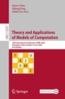 Image for Theory and Applications of Models of Computation: 16th International Conference, TAMC 2020, Changsha, China, October 18-20, 2020, Proceedings : 12337