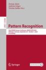 Image for Pattern Recognition: 42nd DAGM German Conference, DAGM GCPR 2020, Tubingen, Germany, September 28 - October 1, 2020, Proceedings : 12544