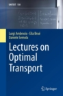 Image for Lectures on Optimal Transport