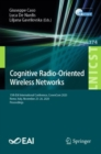 Image for Cognitive Radio-Oriented Wireless Networks: 15th EAI International Conference, CrownCom 2020, Rome, Italy, November 25-26, 2020, Proceedings