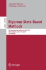 Image for Rigorous State-Based Methods : 8th International Conference, ABZ 2021, Ulm, Germany, June 9-11, 2021, Proceedings