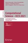 Image for Computational Science - ICCS 2021 : 21st International Conference, Krakow, Poland, June 16-18, 2021, Proceedings, Part II