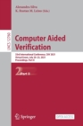 Image for Computer Aided Verification : 33rd International Conference, CAV 2021, Virtual Event, July 20-23, 2021, Proceedings, Part II