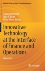 Image for Innovative Technology at the Interface of Finance and Operations