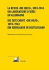 """Image for La Revue """" Die Hilfe """", 1894-1944- Un Laboratoire d'Idees En Allemagne- Die Zeitschrift """"die Hilfe"""", 1894-1944- Ein Ideenlabor in Deutschland"""