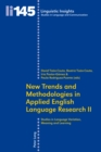 Image for New Trends and Methodologies in Applied English Language Research II : Studies in Language Variation, Meaning and Learning