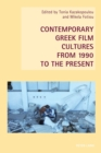 Image for Contemporary Greek film cultures from 1990 to the present