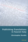 Image for Publishing translations in Fascist Italy