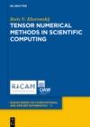 Image for Tensor Numerical Methods in Scientific Computing : 19