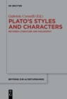 Image for Plato's styles and characters: between literature and philosophy : 341
