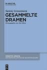 Image for Gesammelte Dramen : 92/1