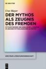 Image for Der Mythos als Zeugnis des Fremden: Mythostheorie und englische Literatur im Zeichen mythologischer Alteritat : 60