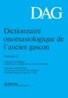 Image for Dictionnaire onomasiologique de l'ancien gascon (DAG)Fascicule 22