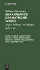 Image for K nig Heinrich Der F nfte. K nig Heinrich Der Sechste, Erster Theil, Zweiter Theil, Dritter Theil