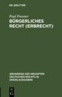 Image for Burgerliches Recht (Erbrecht) : 5