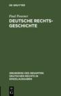 Image for Deutsche Rechtsgeschichte : 19
