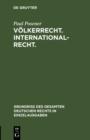 Image for Volkerrecht. Internationalrecht : 13