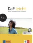 Image for DaF leicht : Kurs-und  Ubungsbuch A1.1 mit DVD-Rom
