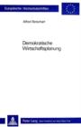 Image for Demokratische Wirtschaftsplanung