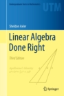 Image for Linear algebra done right