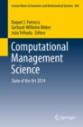 Image for Computational Management Science: State of the Art 2014 : 682