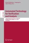 Image for Automated technology for verification and analysis  : 13th International Symposium, ATVA 2015, Shanghai, China, October 12-15, 2015, proceedings