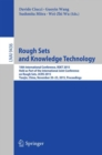 Image for Rough sets and knowledge technology  : 10th International Conference, RSKT 2015