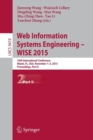 Image for Web Information Systems Engineering - WISE 2015  : 16th International Conference, Miami, FL, USA, November 1-3, 2015, proceedings, part II