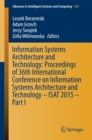 Image for Information Systems Architecture and Technology: Proceedings of 36th International Conference on Information Systems Architecture and Technology - ISAT 2015 - Part I : 429