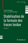 Image for Stabilisation de la formule des traces tordue: Volume 1 : 316
