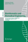 Image for Bioinformatics and biomedical engineering  : 4th International Conference, IWBBIO 2016, Granada, Spain, April 20-22, 2016