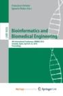 Image for Bioinformatics and Biomedical Engineering : 4th International Conference, IWBBIO 2016, Granada, Spain, April 20-22, 2016, Proceedings